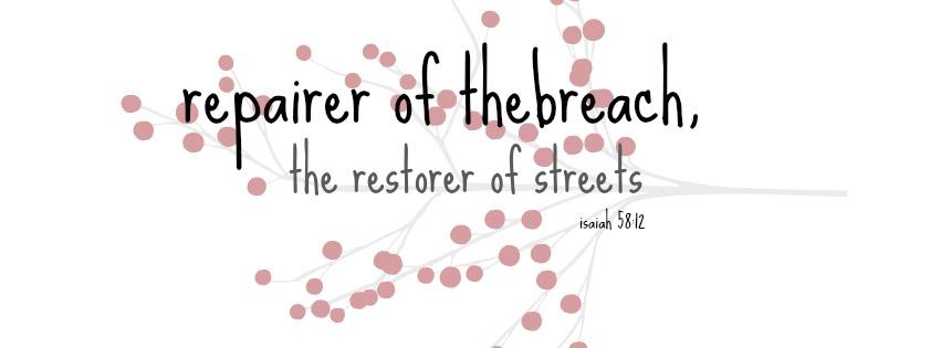 Repairer of the breech