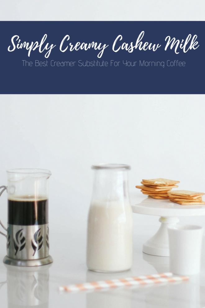 Creamy Blender Cashew Milk Recipe